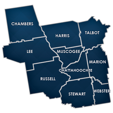 Columbus Division Counties