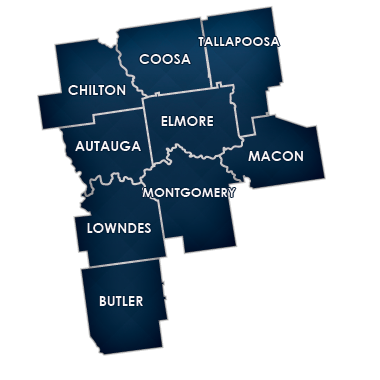 Montgomery Division Counties